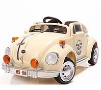Детский электромобиль WV Beetle YJ158 R/C BEIGE