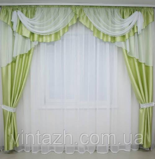 Комплект штор в гостинную