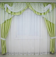 Комплект штор в гостинную, фото 1