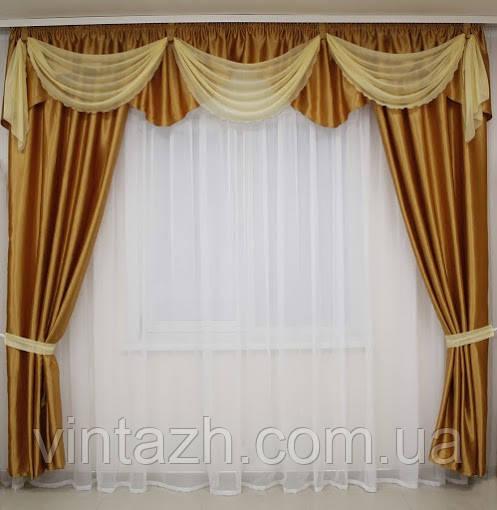 Комплекты шторы с ламбрекеном