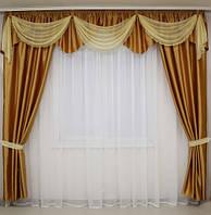 Комплекты шторы с ламбрекеном, фото 1