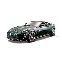 Авто-конструктор Jaguar XKR-S Bburago 18-25118 темно-зеленый
