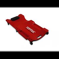 Лежак автослесаря подкатной пластиковый 1020x480x115mm