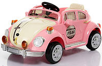 Детский электромобиль WV Beetle YJ158 R/C PINK