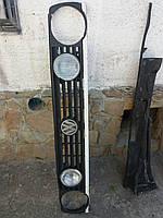 Решетка радиатора VW Golf 2 / Фольксваген Гольф, на 4 фары 2