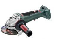 Аккумуляторная угловая шлифмашина METABO WPB 18 LTX BL 125 Quick - каркас (613075840)