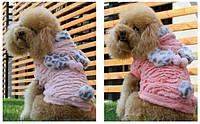 """Шубка- курточка для собачек """"Sweetheart"""" ТМ DOBAZ. Одежда для собак."""