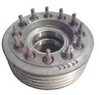 Шкив двигателя (9-ти ручейный) в сборе  238АК-1005061