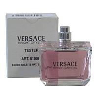 Versace Bright Crystal туалетная вода 90 ml. (Тестер Версаче Брайт Кристал)
