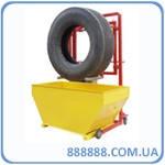 Ванна тележка для проверки колес грузовых авто ВГУ-2 Украина