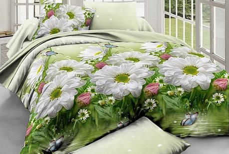 Полуторный набор постельного белья из Ранфорса №173 Черешенка™, фото 2
