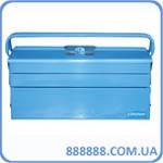 Ящик инструментальный, раскладной, 3 уровня с 2 ручками UNBC122B Unitraum
