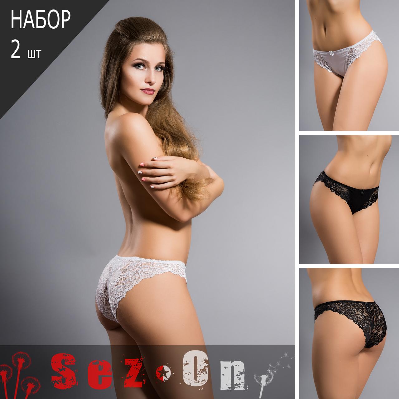 Гладкие женские закрытые трусики, средняя посадка Acousma  (оптом) - Sez On - Ваш сезон успешных покупок. в Одессе