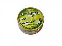 Леденцы Fine Drops Woogie со Zitronen льодяник, 200 гр