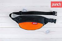 Сумка на пояс PUNCH Цвет Black/Orange