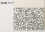 Термопленка с крупными блестками Siser MODA GLITTER 2 Silver ( сисер мода глиттер 2 серебро )