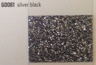 Термопленка с крупными блестками Siser MODA GLITTER 2 Silver Black ( сисер мода глиттер 2 серебро черное )