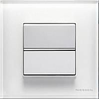 Выключатель 1 кл, 2 мод. перекрестный, белый, Zenit