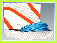 Теплый пол Nexans (Норвегия) кабель одножильный электрический TXLP/1 (380/28) 380Вт 1.1-1.4м2 д/внешн обогрева