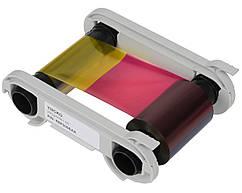 Лента риббон YMCKO - 300 prints / roll(R5F008EAA)цветная на 300 карт