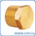 Фитинг заглушка с наружной резьбой латунный 1/2 SOS P-42-1 Sumake