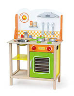 """Игровой набор Viga Toys """"Фантастическая кухня"""" , детская кухня для девочек"""