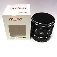 Портативная колонка Bluetooth Music S26;S28 мини (аккумулятор.USB;microSD)(X)