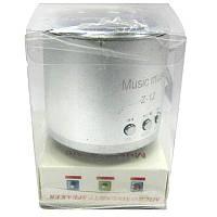 Портативная колонка WS-Z12 мини (аккумулятор.USB;microSD)