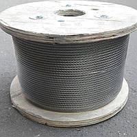 Трос нержавеющий 4,0 мм (7х7) A4 (SS316)