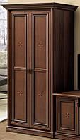 Шкаф 2-х дверный вариант №1 Терра/Terra орех Лунгарно (Скай ТМ)