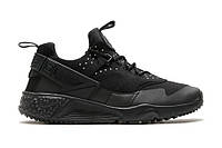 Кроссовки Nike Huarache Utility All Black , фото 1