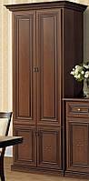 Шкаф 2-х дверный вариант №2 Терра/Terra орех Лунгарно (Скай ТМ)