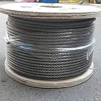 Трос нержавеющий 6,0 мм (7х19) A4 (SS316)
