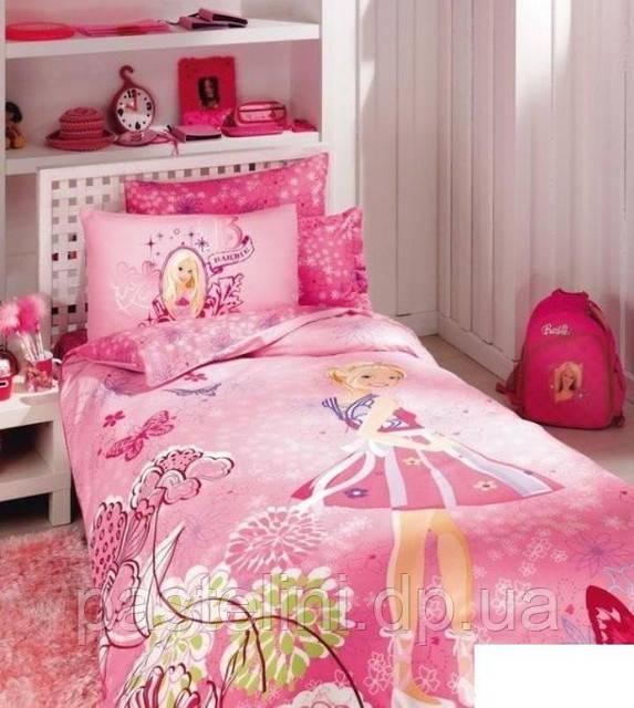 ТАС Barbie Butterflya(Барби Батерфляй) пододеяльник+ проспынь на реинке