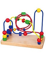"Лабиринт Viga Toys ""Бусинки"", развивающий лабиринт, бусинки"