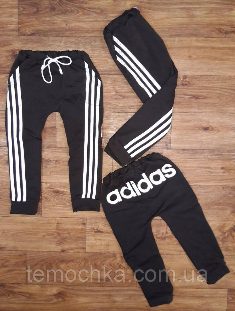 Спортивные штаны .Adidas.Коричневые.
