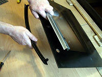 Замена ручки дверцы жарочного шкафа, духовки
