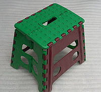 Табурет (стул) пластмассовый складной для турпохода