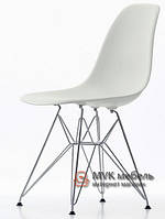 "Стул ""Eames DSR"" (Chrome) (ПЛ белый)"