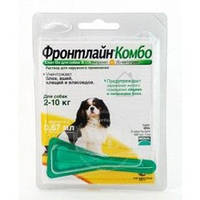 Merial Frontline Combo  S капли для собак от 2 до 10 кг 1пипетка