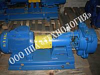 Насос ВВН1-0,75 вакуумный водокольцевой в сборе с электродвигателем