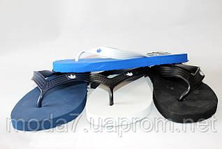 Вьетнамки мужские черные Adidas реплика, фото 2