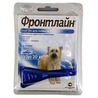 Merial FrontLine Spot On M (Фронтлайн) капли для собак от 10 до 20 кг 1пипетка