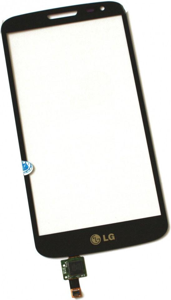 Сенсор LG Optimus G2 mini D618, D620 black (оригинал), тач скрин для т