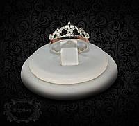 """Серебряное кольцо """"Корона 1"""""""