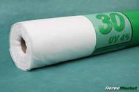 Агроволокно Agreen 30 (1,6х50) белое укрывное агроволокно Агрин плотность 30 для защиты урожая