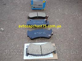 Колодка тормозная Nissan Almera N15 комплект 4 шт. передние (производитель  Kashiyama, Япония)