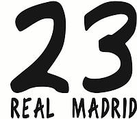 Нанесение номера и фамилии Real Madrid 13\14