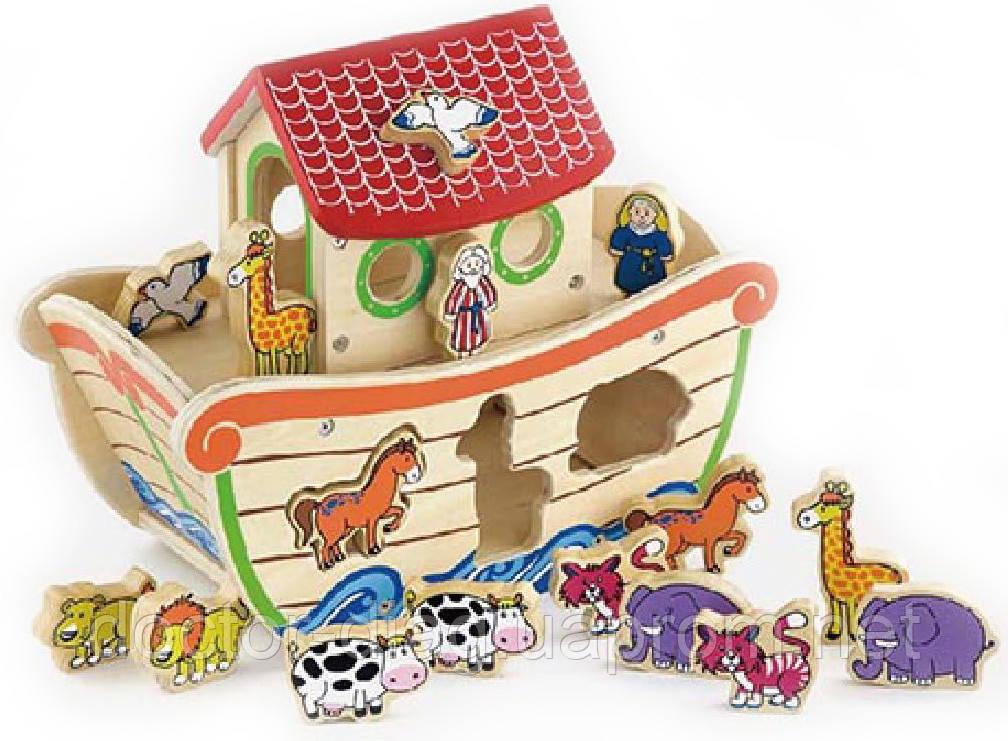 Viga Toys Сортер Viga Toys Ноев ковчег (50345)