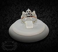"""Серебряное кольцо """"Корона 4"""""""